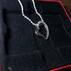 Heart shaped pandora necklace